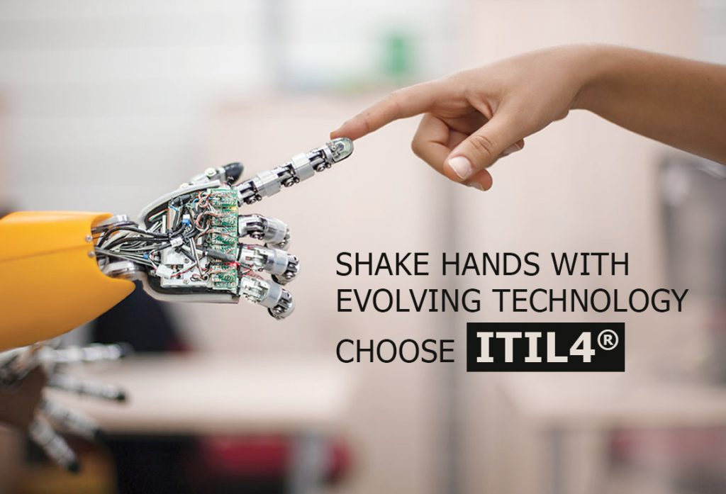 Shake hands with evolving technology ITIL