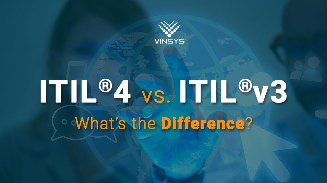 ITIL V4 vs ITIL V3