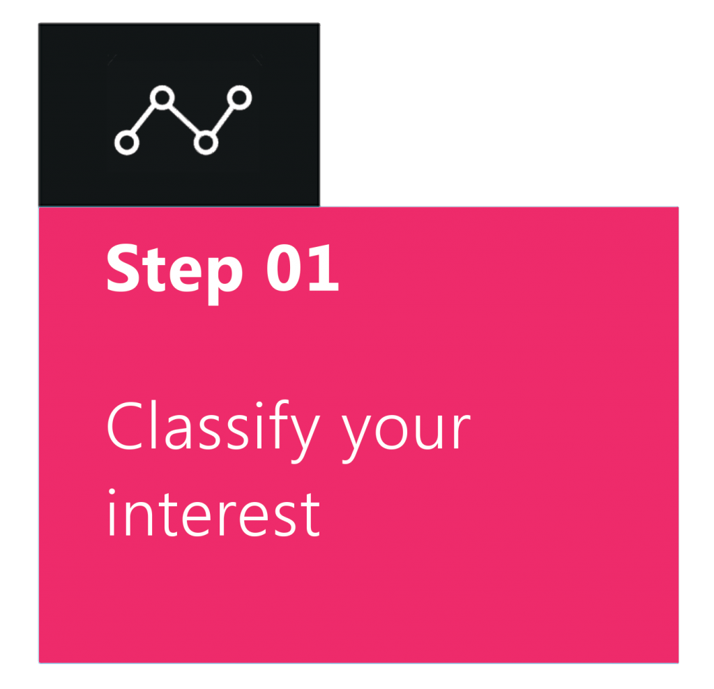 Classify your interest