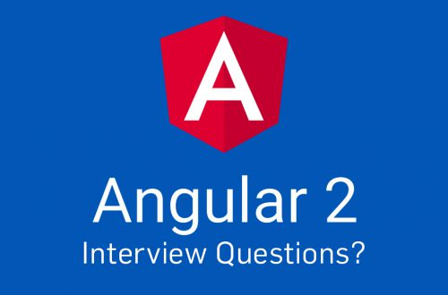 angular 2 interview questions and answers