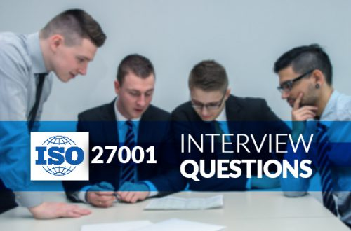 ISO 27001 Interview Questions - Vinsys