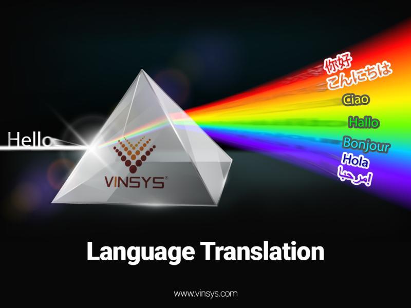 Vinsys- Language Translation